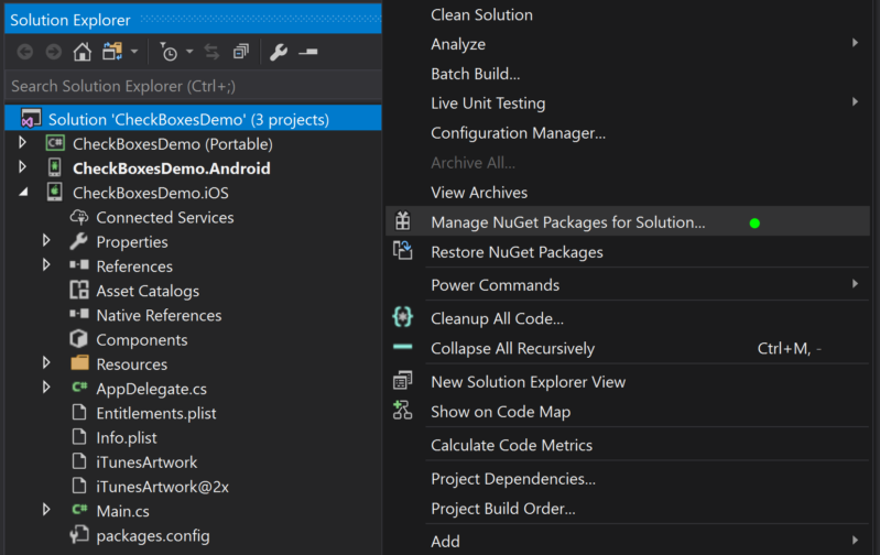 How to create Checkboxes in Xamarin Forms – Devlin Duldulao